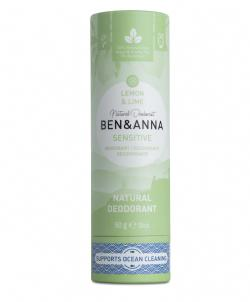 Natuurlijke SENSITIVE deodorant stick Lemon & Lime
